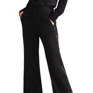 NWT❗️Veronica Beard wide leg tuxedo pants